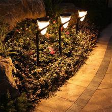 2PCS Solar Landscape Lights Wall Lamp LED Landscape Garden Light For Outdoors Courtyard Corridors Christmas Decoration