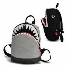 2019 new cute baby school bag cartoon shark backpack student boy