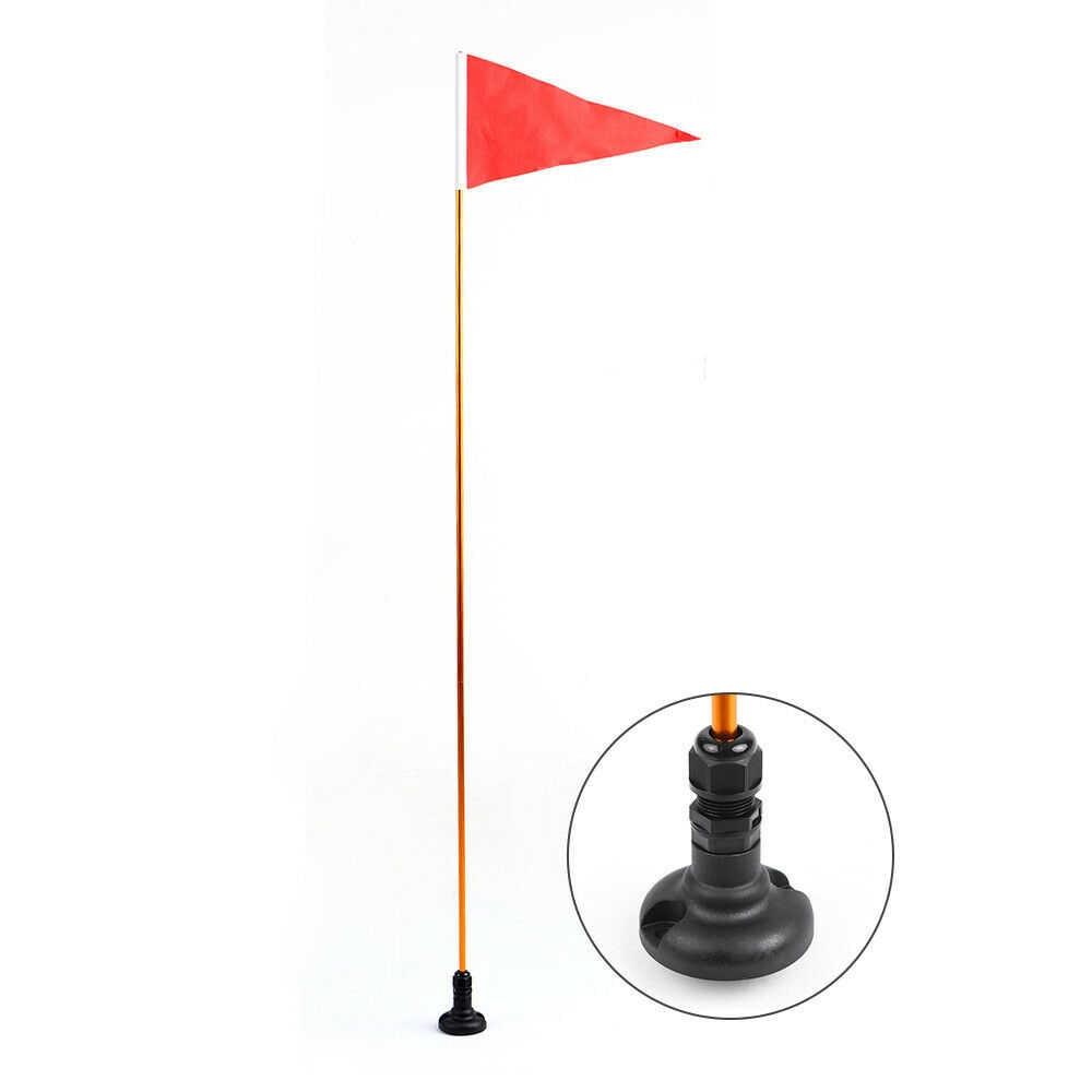 Remplacement de Support de bâti de Rail de Base de drapeau de Kayak de 2 pièces pour des Sports nautiques de Yacht marin de bateau de pêche
