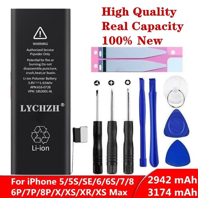 Batería de litio Original para iPhone 6S 6 5S 5C X SE 7 8 Plus XR Xs Max alta capacidad Real herramienta de ciclo cero pegatina para 6SBattery Jyrkior, soporte de fijación PCB para teléfono móvil, placa base, Plataforma de mantenimiento de soldadura para iPhone 5/5S/6/6P/7/7P/8/XR, reparación de soldadura