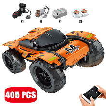 MOULD KING High-Tech Remote Control MK Giant Climbing Car Building Blocks Model APP RC Vehicle Brick Toys For Boy Christmas Gift