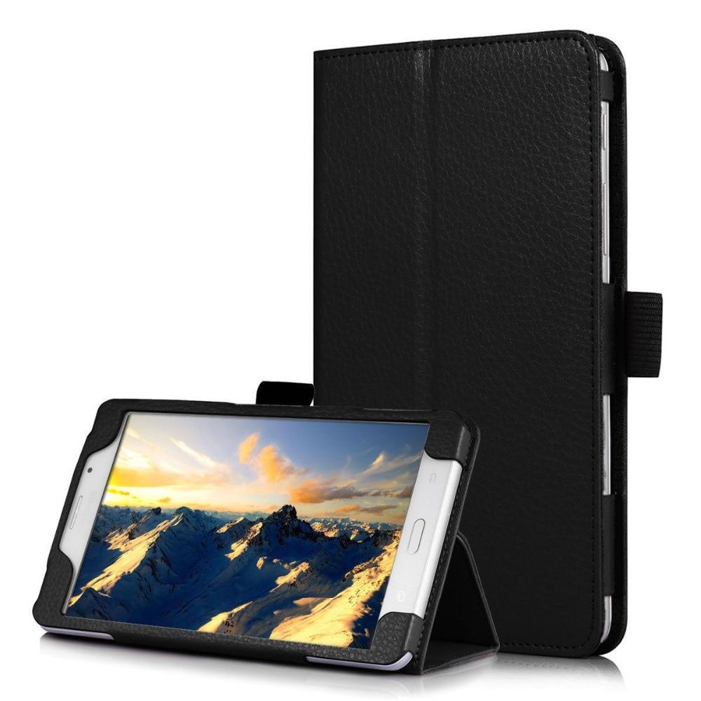 Чехол-подставка для Samsung Galaxy Tab A 6 A6 7,0 2016 T280 SM-T280 T280N T285 SM-T281 откидной Чехол из искусственной кожи для планшета-5
