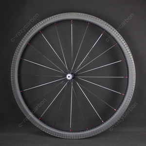 Image 5 - Special Brake 12k Finish Climbing Front Rear Carbon Road Bicycle Wheels With Novatecs AS61cb/FS62cb Carbon Hubs Straight Pull