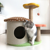 Cat Scratcher Tree for Cats Scratching Post Plush Cat Climbing Frame Toy Scratch for Cats Furniture Pet Products Kitten Toy