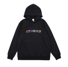 Travis Scott ASTROWORLD Hoodies Men Women Streetwear High Quality Embroidery Sweatshirts Astroworld