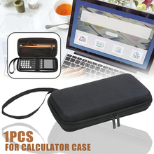 цена на for TI-83 Plus/TI-84 Plus CE/TI-84 Plus/TI-89 Titanium/HP50G Accessories Calculator Bag Hard Storage Case Protective Pouch Box