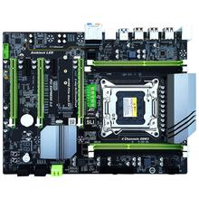 DDR3 PC Desktops Motherboard LGA 2011 CPU Computer 4 Channel Gaming Support M.2 E5-2680V2 i7 SATA 3.0 USB 3.0 for Intel(China)