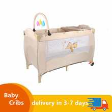 Hot Baby Bed Crib Portable Zipper Cotton Newborn Bumpers Infant Safe Fence Line Cot Protector Infant Unisex HWC