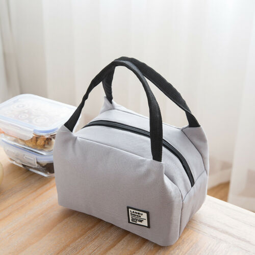 Portable Adults Women Ladies Girls Portable Insulated Lunch Bag Box Picnic Tote Thermal