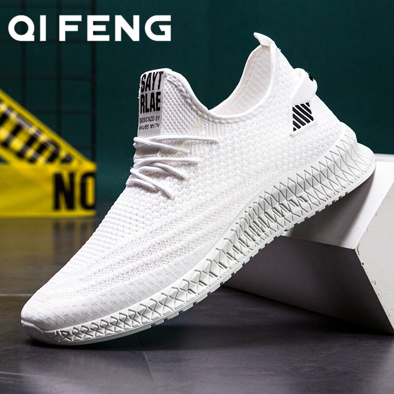 Men Running Shoes Spring Mesh Sneakers Black Casual Shoes Summer New Cheap Sapatos De Mujer Fashion Light Breathable Men's Shoes|Running Shoes| |  - title=
