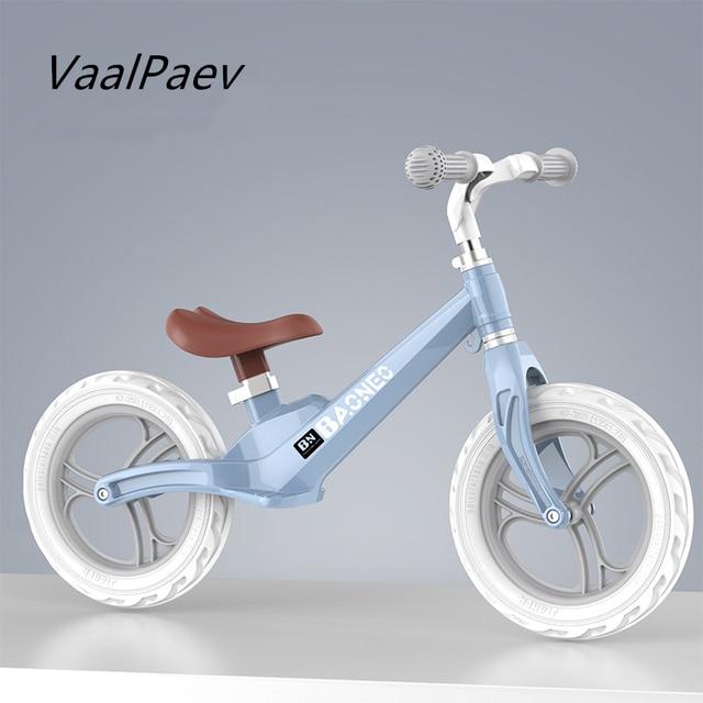 Bicicleta de equilibrio, modelo de bicicleta, juguetes al aire libre para niños, Scooter, andador, remolque infantil, tren profesional para niños y niñas, truco de empuje
