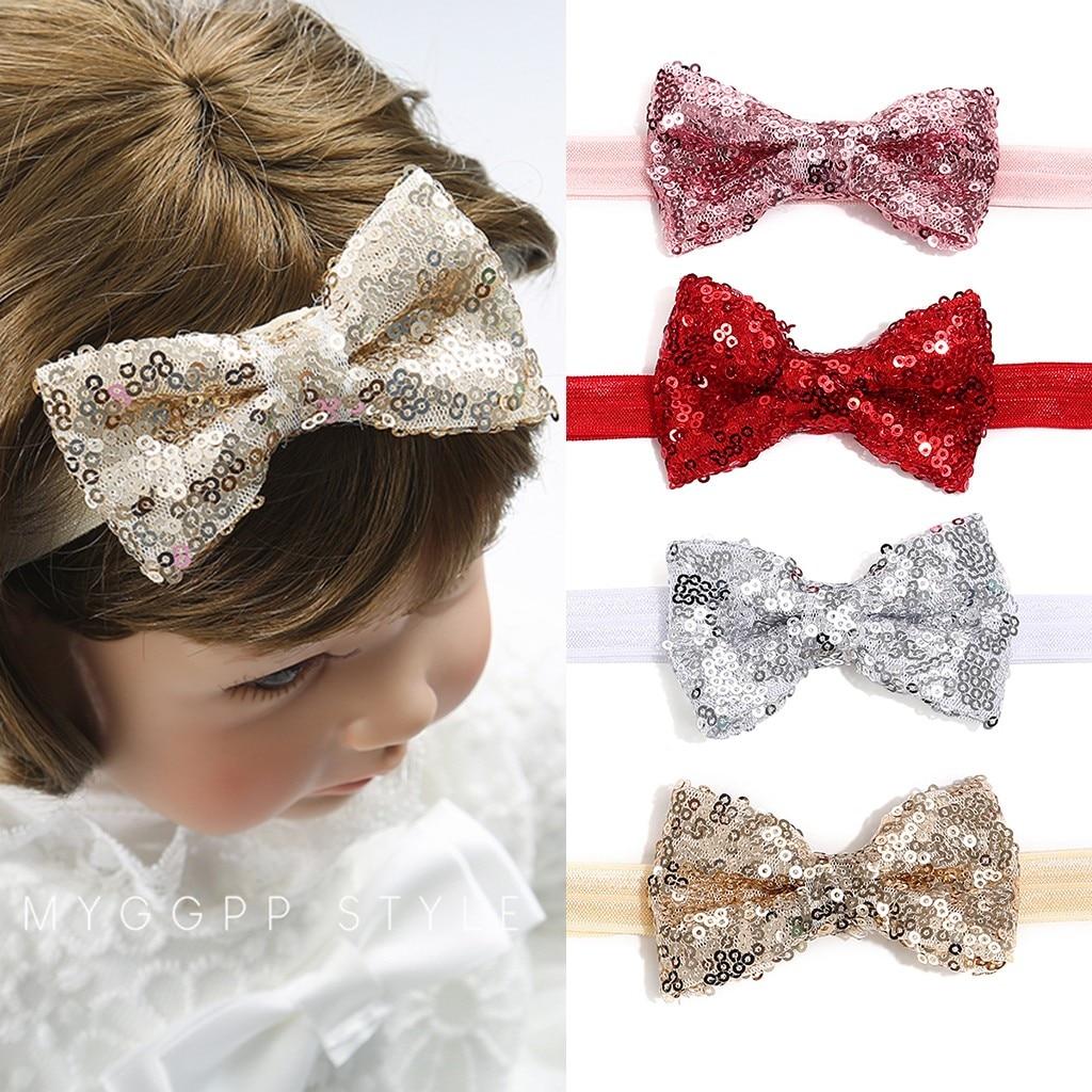 Newborn Toddler Kid Baby Hair Accessories Girls Bow Turban Baby Headband Headwear Bandeau Bebe Fille Шапка Детская Diadema Nina