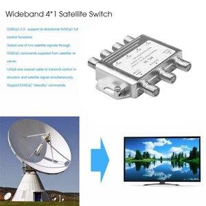 Image 3 - MS34EZ 3X4 Satellite MultiSwitch Splitter FTA TV LNBสำหรับCascadeดาวเทียม3ใน4 Multiswitchดีขายส่ง