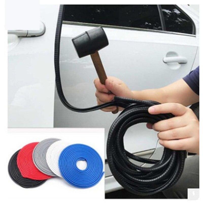 1 шт. 5 м Противоскользящая Лента для автомобильной двери многоцветная защитная лента для автомобильной двери с защитой от царапин наклейка ...