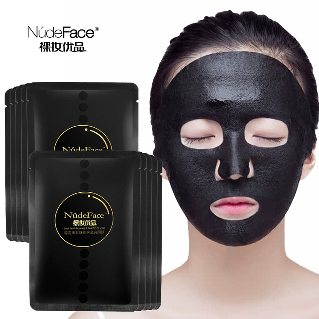 Sheet Mask Korean Cosmetics Makeup Remover Blackhead Acne Treatment Skin Care Organic Korean Face Mask Anti Aging Whitening 2