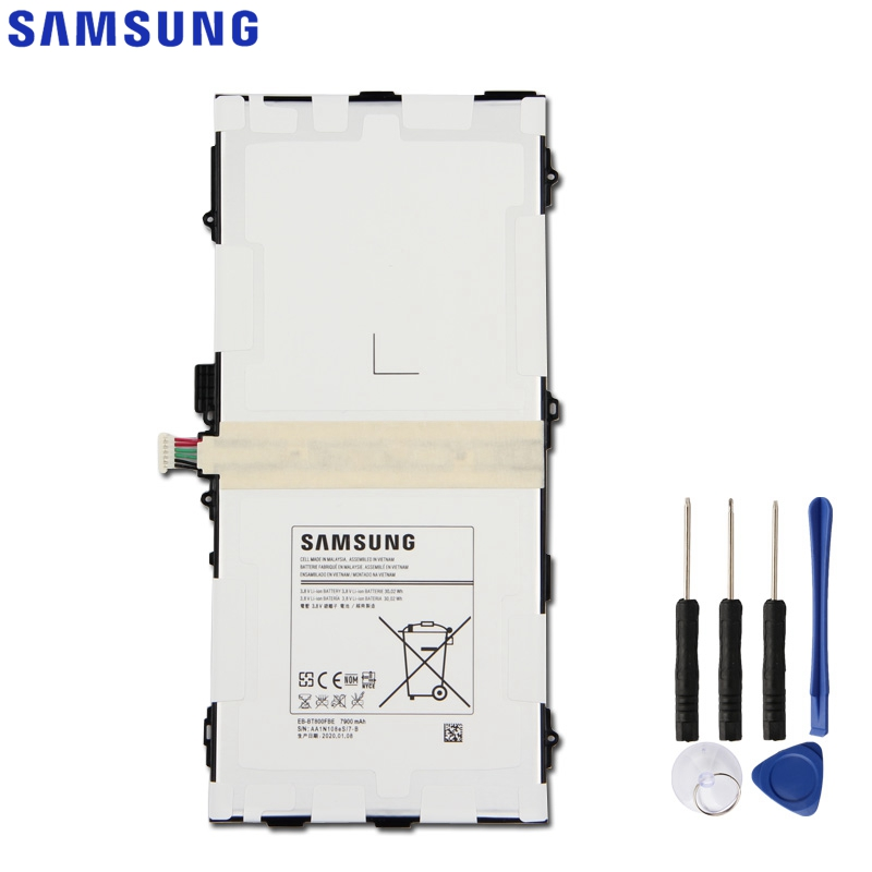 Samsung оригинальный EB-BT800FBE аккумулятор для Samsung GALAXY Tab S 10,5 T800 T801 T807 SM-T805c EB-BT800FBC/бу планшет аккумулятор 7900 мАч
