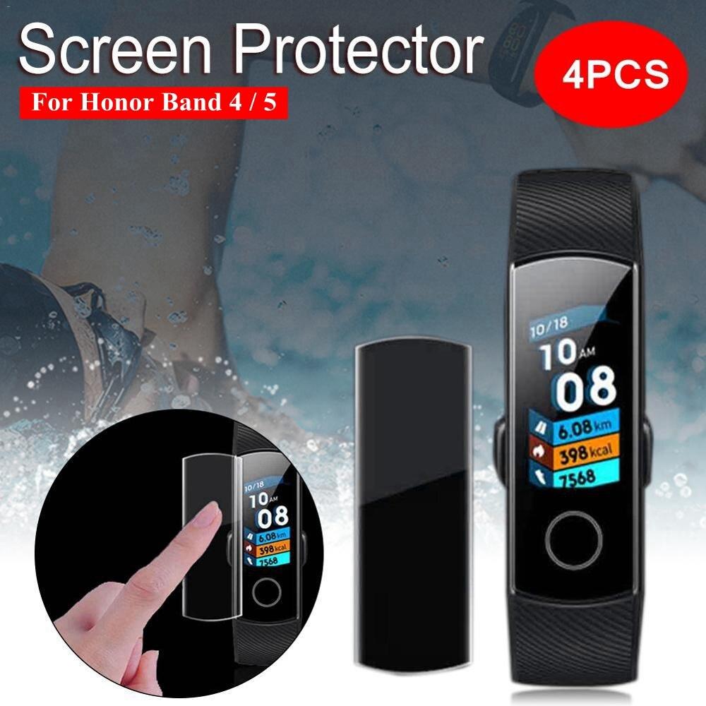 4 шт., защитная пленка для экрана Huawei Honor Band 5 4|Смарт-аксессуары|   | АлиЭкспресс