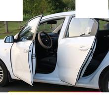 Lsrtw2017 Rubber Car Door Edge Anti-collision Strip for Kia K2 K3 K4 K5 Kx5 Sportage Forte Rio Interior Mouldings Accessories lsrtw2017 car door edge anti collision strip trims for kia k2 k3 k4 k5 kx5 sportage forte rio interior mouldings accessories