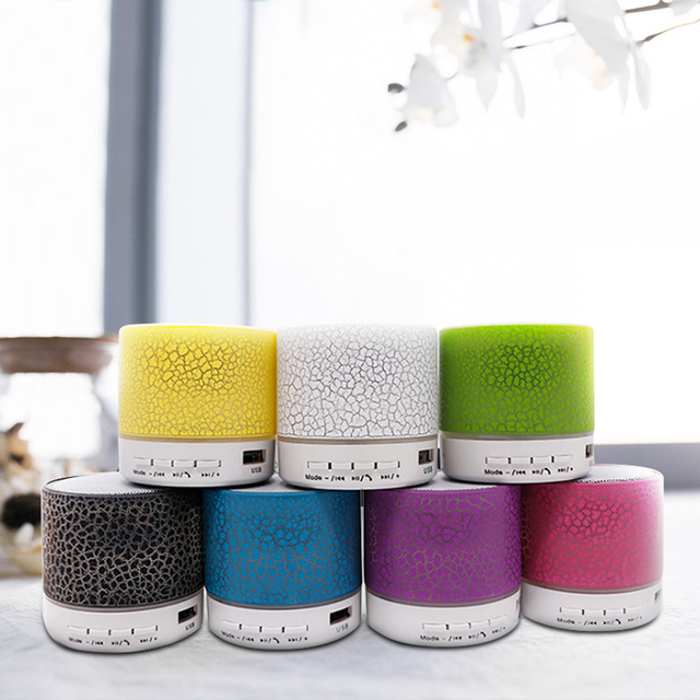 Altavoz de Color de Bluetooth Portátil