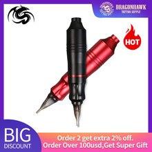 Güçlü dövme kalemi Rotary dövme makinesi kalıcı makyaj makinesi dövme Guns kaş dövme vücut sanatı