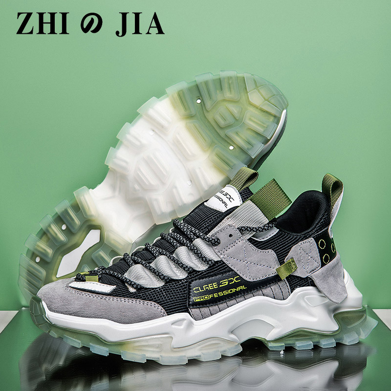 2020 New High end Men's Casual Shoes breathable and lightweight lace-up outdoor sports and leisure shoes Tenis Feminino Zapatos