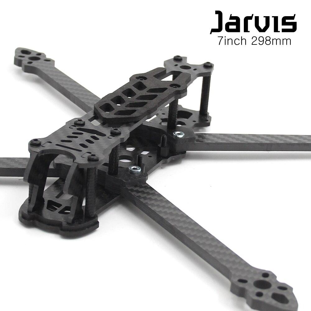 Jarvis 5inch 237mm / 7inch 298mm Carbon Fiber Quadcopter Frame Kit W/ 5mm Arm For 2204 2205 2207 2306 2405 2307 2308 Motor