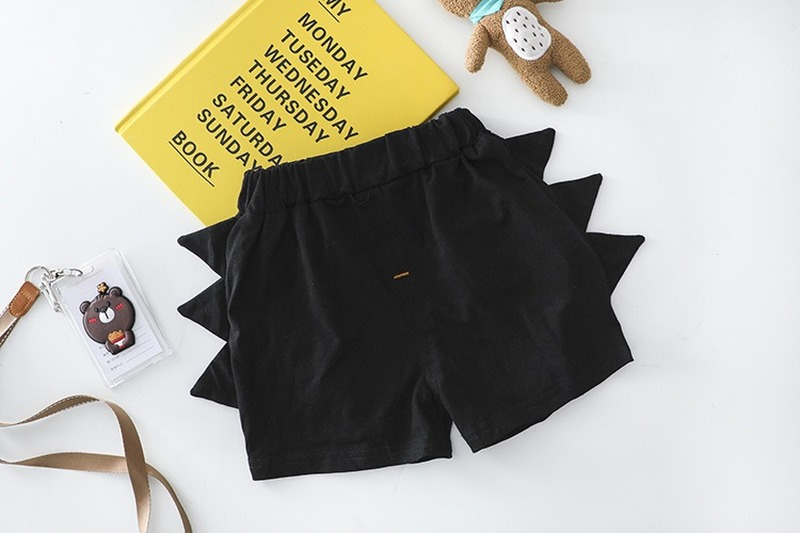 Baby Clothes Summer Suit Toddler Boys Short Sleeve Top + Black Shorts Children Outfits 2 Pieces 1-4 Year Old Baby Kids Clothes 6