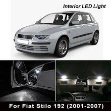 11 adet 100% hata ücretsiz LED plaka ampul + İç dome harita işık kiti Fiat 500L (2014 2018)