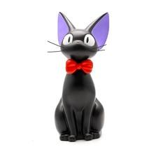 Doll Action-Figure Service Totoro Delivery Plastic-Model Black Pvc Cat Resin 25cm Piggy-Bank