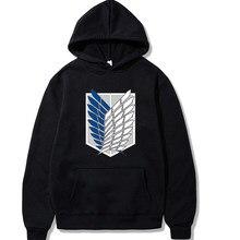 2021 atace em titan hoodie elementos anime pullovers topos inverno confortvel roupas unissex