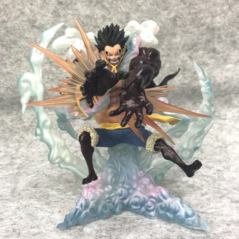 Anime One Piece SA-MAXIMUM P.O.P Zero the Bound Man Monkey D Luffy PVC Action Figure Model Toys Collection Toy Gifts 2