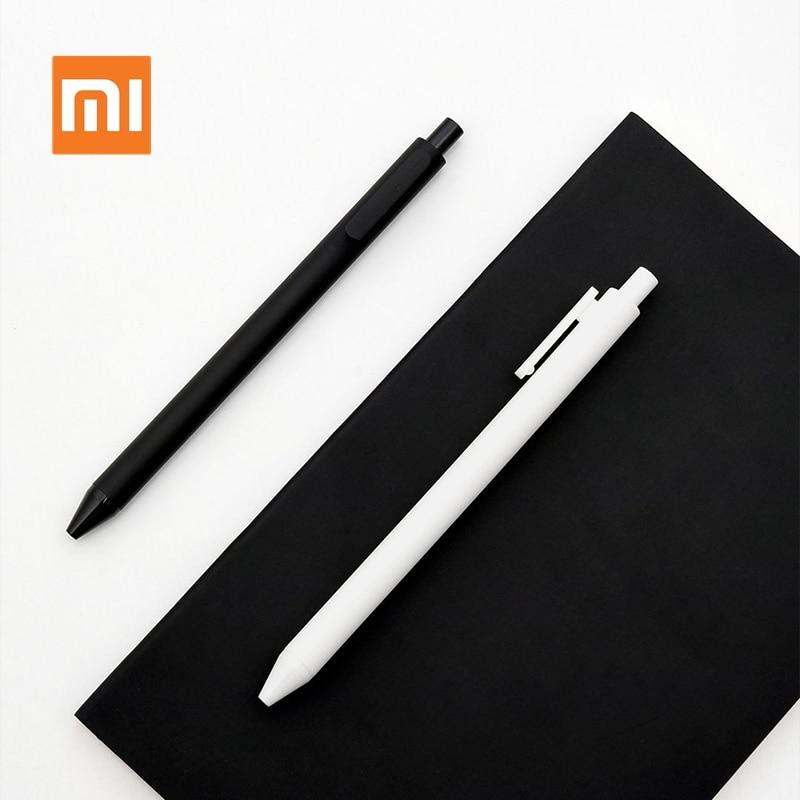 Original Xiaomi KACO Roller Mi Signing PEN Gel Ink Smooth Writing Durable Signing Black Refill 1 PCS Retail 0.5mm