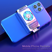 Phone Cooling Semiconductor Portable Universal Smartphones Radiator Professional Gaming Players Radiator Phone Stand Holder