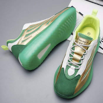 Al aire libre zapatillas de correr para hombre transpirable zapatillas de deporte Hombre cómodas antideslizante de amortiguación deportes zapatos de tendencia de QualityTraining zapatos 1