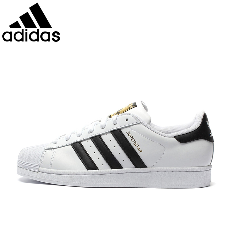 Original Authentic Adidas 917 Clover Series Women Sneakers Shell Head Fashion Men Skateboarding Shoes Classic Black White C77124