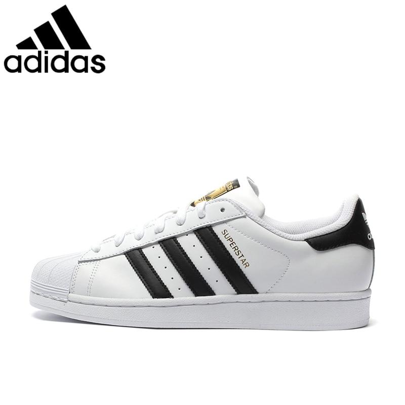 Original Authentic Adidas 917 Clover Series Women Sneakers Shell Head Fashion Men Skateboarding Shoes Classic Black White C77124