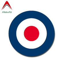 Aliauto Glossy Vinyl Decal RAF Roundel The Who Mod Target Vespa Sticker Waterproof Automobiles & Motorcycles Styling,13cm*13cm(China)