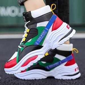 Image 4 - BIGFIRSE Scarpe Da Tennis per Gli Uomini Lace up Traspirante scarpe da Uomo Scarpe di Cotone Per Il Tempo Libero Allaperto Scarpe 2020 Zapatos Hombre Casual Scarpe Da Ginnastica Per uomini