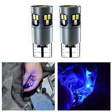 T10 Led W5W Canbus Decoding Lamp White Yellow Blue 168 194 Bulb Clearance Lights For Audi A4 B9 Q5 Q7 TT R8 8S 2016 2017