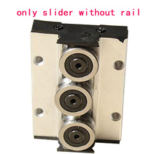 1PCS SGR linear guide slider SGB locking positioning square aluminum alloy multi-wheel 3, 4, 5 round not include Guide