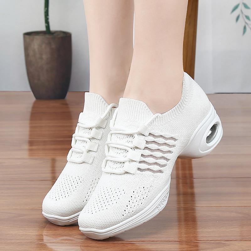 Mesh Jazz Shoes Woman Ladies Sports