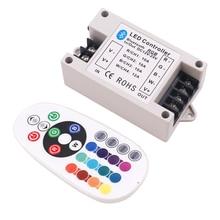 Contrôleur 30A/42A, RGB/RGBW Led Bluetooth, télécommande IR, grande puissance, 360W, pour RGBW/ruban à Led, DC12 24V