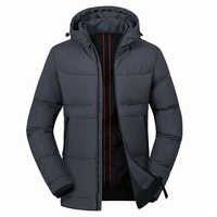 Uomini Giacca invernale Parka Con Cappuccio Degli Uomini di Inverno Caldo Cappotto Per L'uomo casual Parka Degli Uomini Vestiti 2020 di Inverno del Mens di Giubbotti e cappotti M-4XL