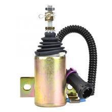 12V Valvola di Arresto Del Combustibile Solenoide di Arresto XHF 1121 E483310000093 Fit per Foton 483 Shut Off Elettrovalvola