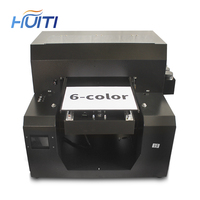 Huiti,Multifunct UV Printers Cylinder Bottle Printer A3 Flatbed Printing Machine For Phone Case Photo Colour Machin For Print