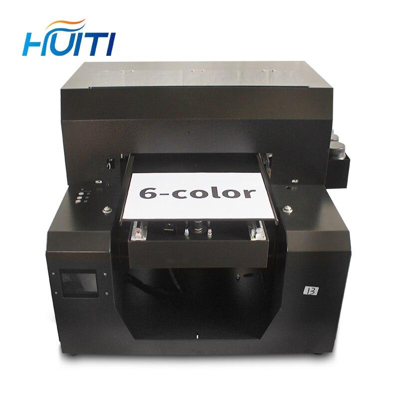 Huiti, imprimante de coque de téléphone d'imprimante UV de taille A4 complètement automatique avec le dispositif de cylindre