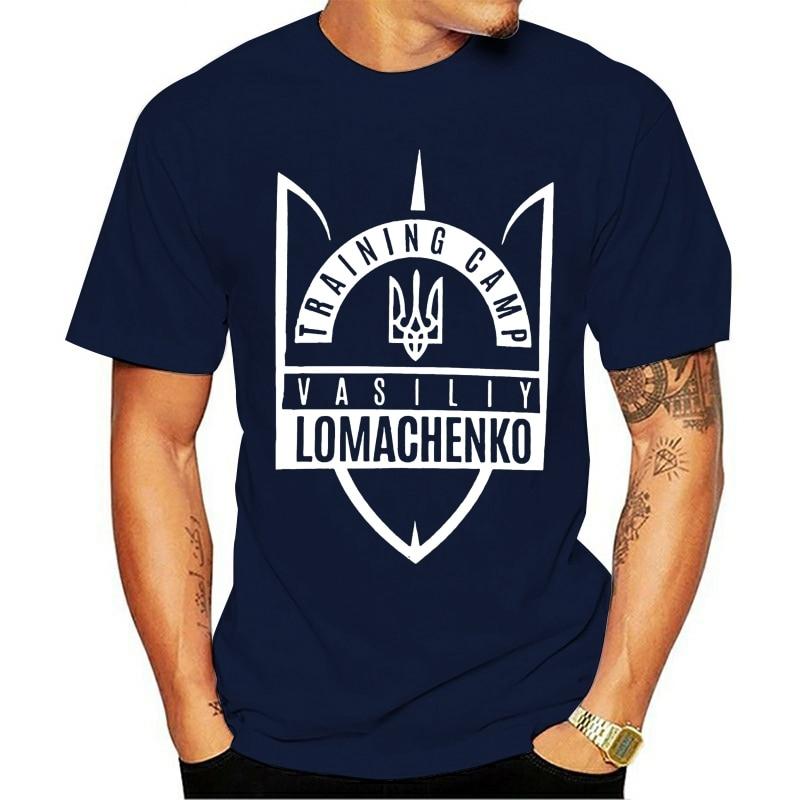 Novo 2021 футболка Ломаченко Василий Treinamento Campo De MMA Masculino Pretos Para Xl