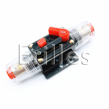 2pcs auto audio safety equipment with automatic fuse box switch 100A 150A can be restored