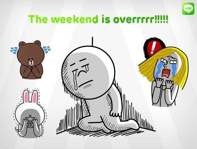 周末结束的说说 过完周末的心情
