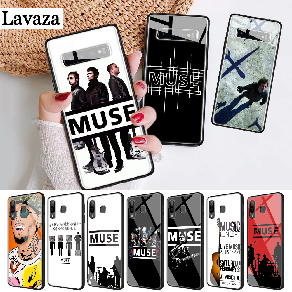 239d Muse Band Lyrics Music Songs Glass Case for Samsung S7 Edge S8 S9 S10 Plus Note 8 9 10 A10 A20 A30 A40 A50 A60 A70 image